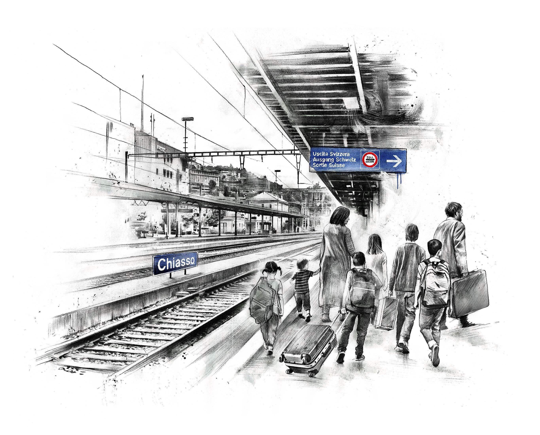 Tarakhel WOZ Illustration - Kornel Illustration | Kornel Stadler portfolio