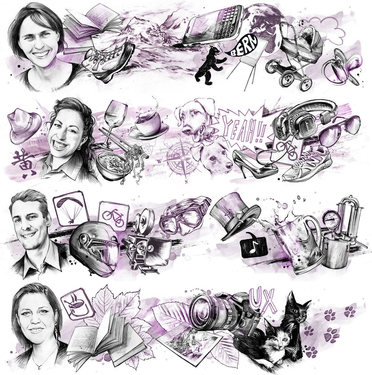 Team - Kornel Illustration | Kornel Stadler portfolio