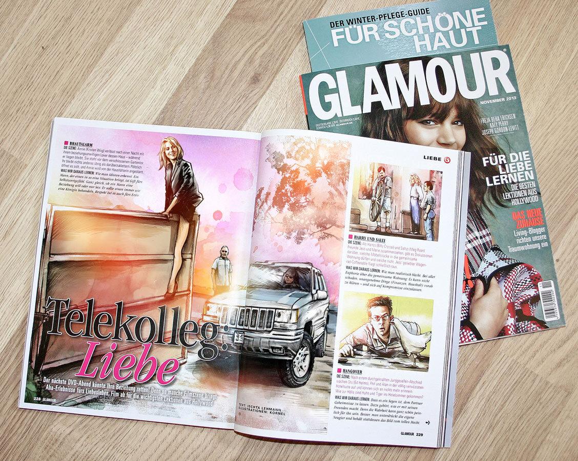Glamour foto - Kornel Illustration | Kornel Stadler portfolio
