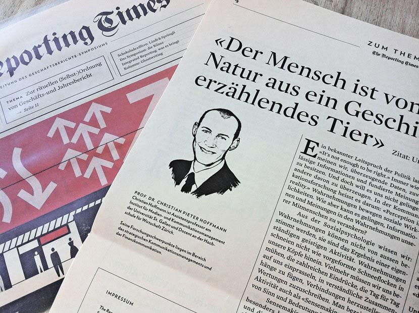 Reporting Times - Kornel Illustration | Kornel Stadler portfolio