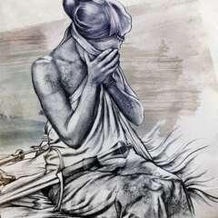 Work Justitia versagt cover illustration Kornel Illustration | Kornel Stadler