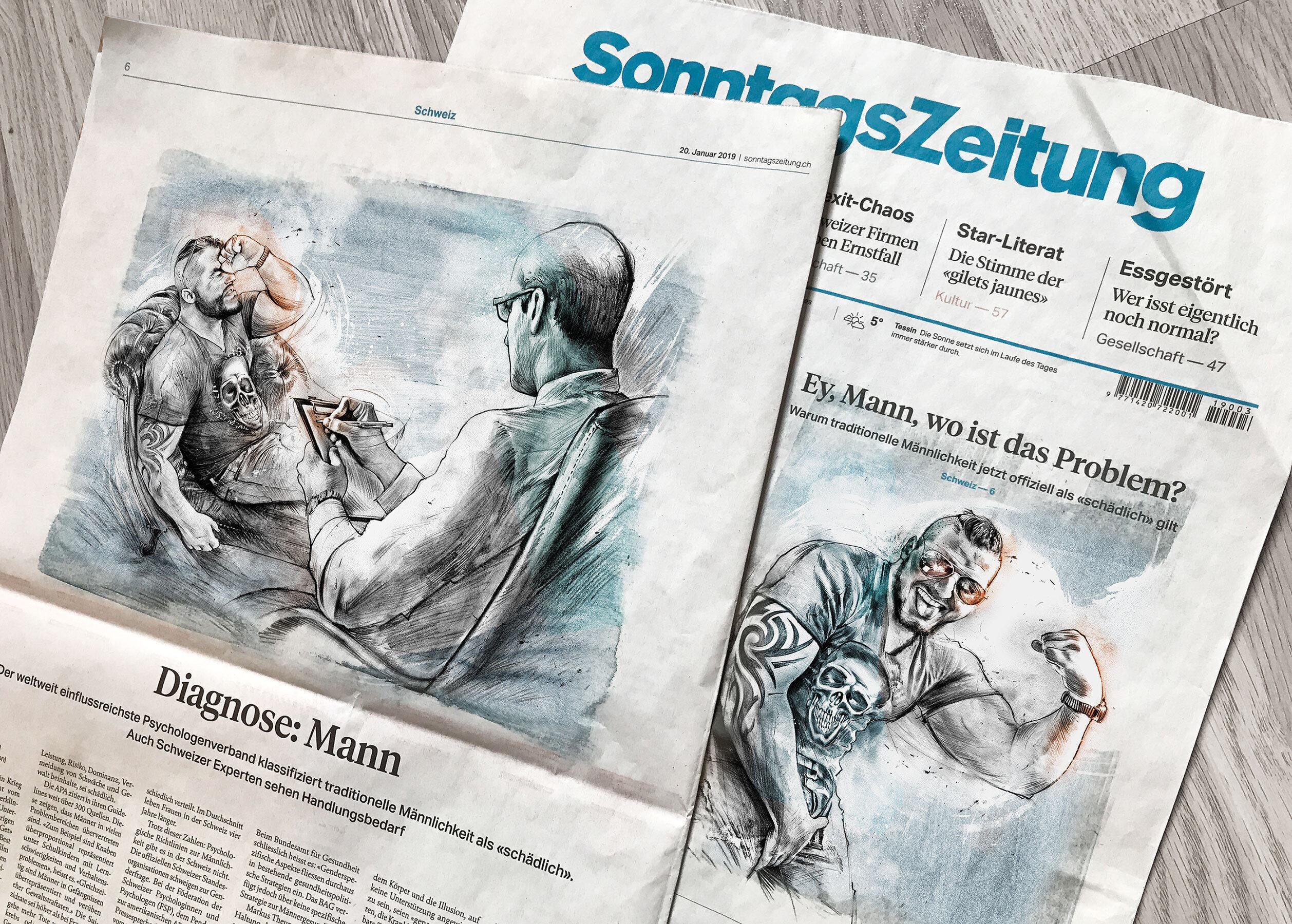 Zeitung illustration editorial - Kornel Illustration | Kornel Stadler portfolio