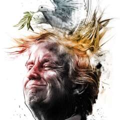 Work Nobelpreis Trump 3138 634 1100 Kornel Illustration | Kornel Stadler