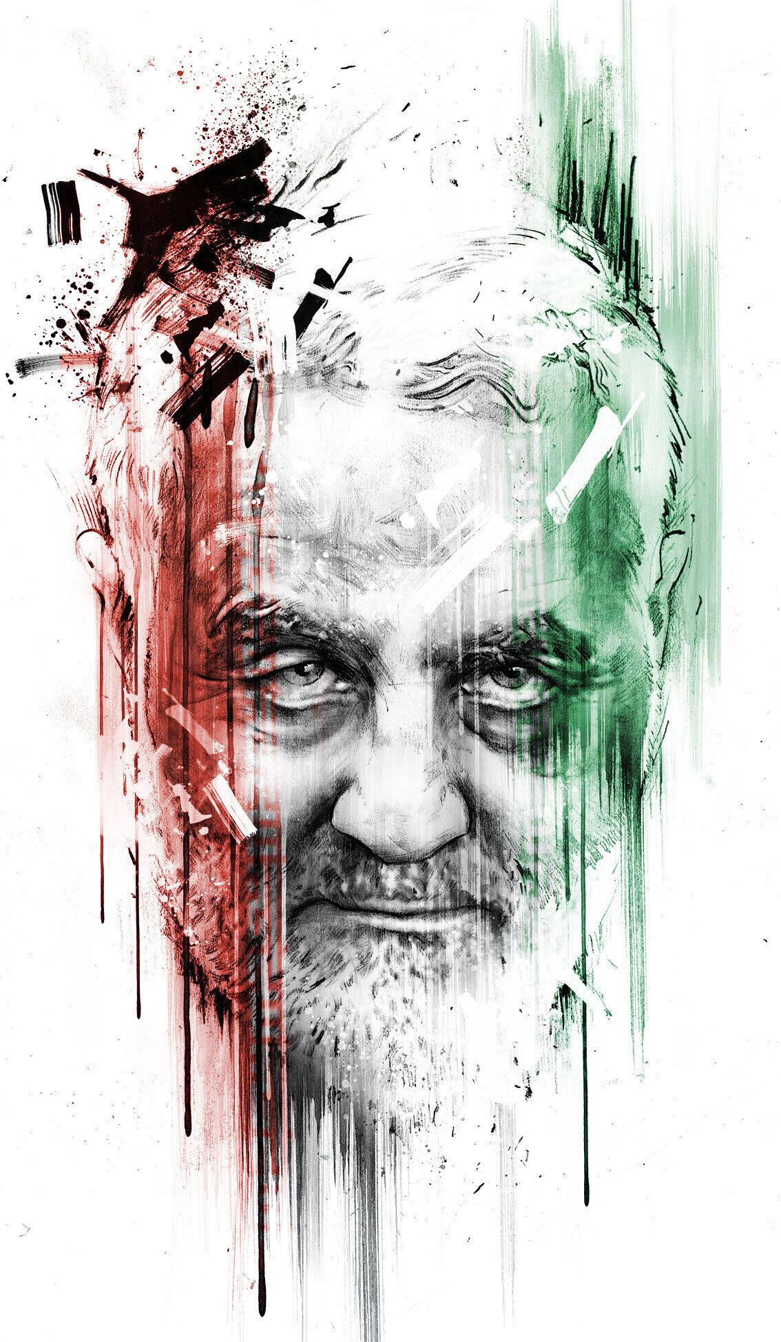 Soleimani - Kornel Illustration | Kornel Stadler portfolio