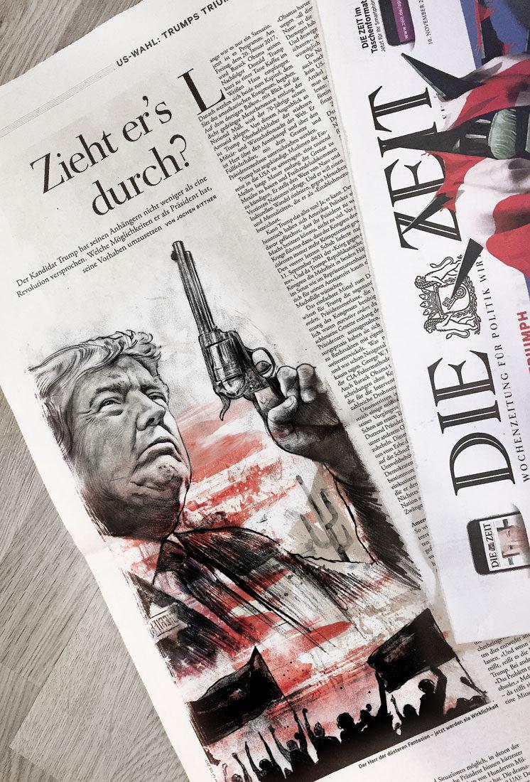 Foto Die Zeit - Kornel Illustration | Kornel Stadler portfolio