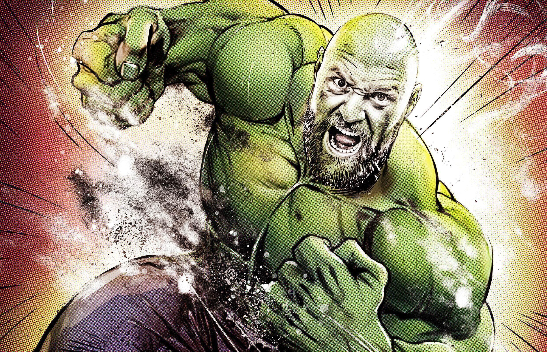 Hulk Tyson - Kornel Illustration | Kornel Stadler portfolio