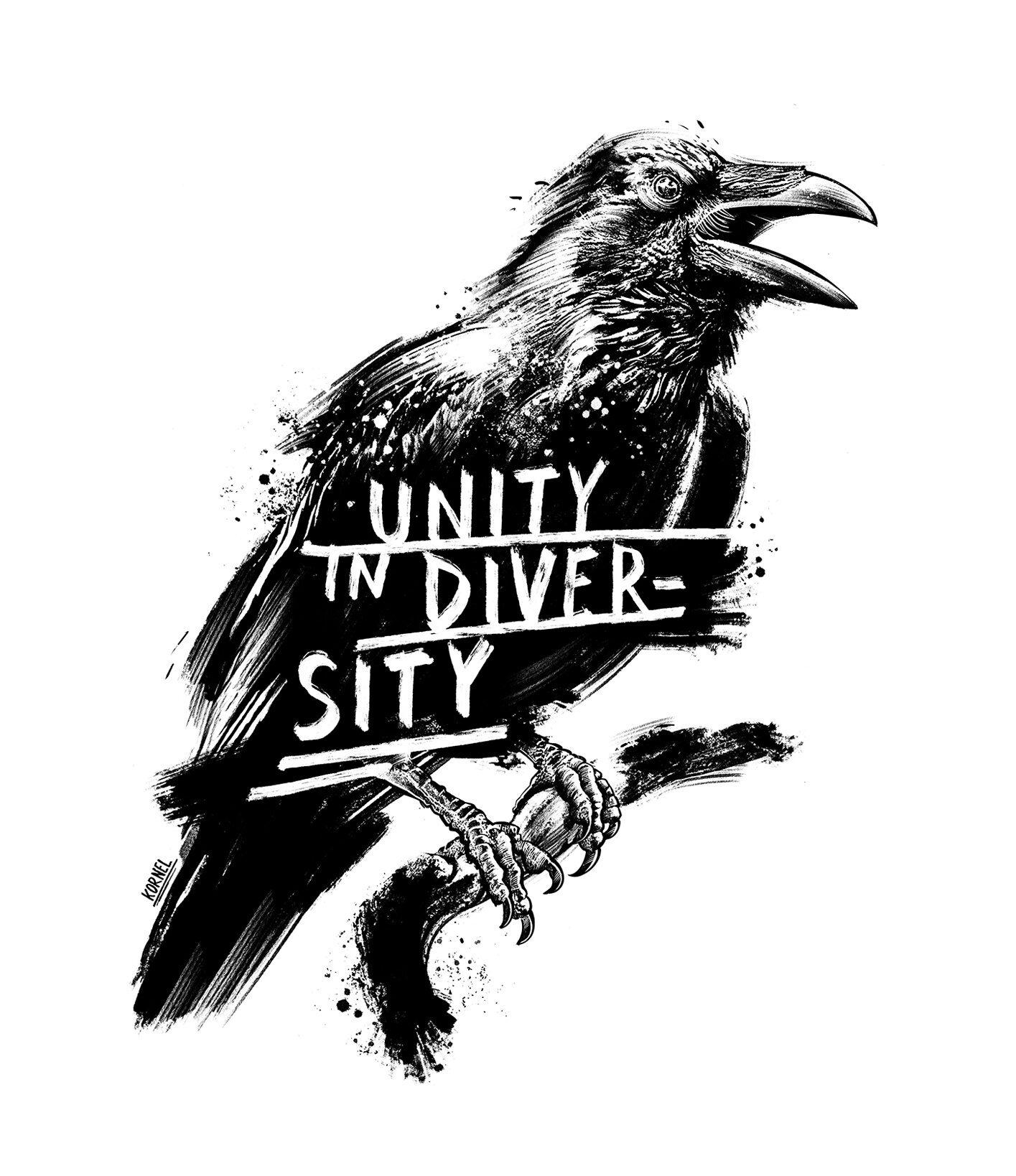 Radio Ra Be raven bern illustration drawing kornel - Kornel Illustration | Kornel Stadler portfolio