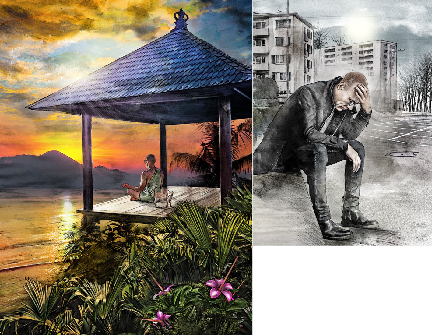 Lombok - Kornel Illustration   Kornel Stadler portfolio