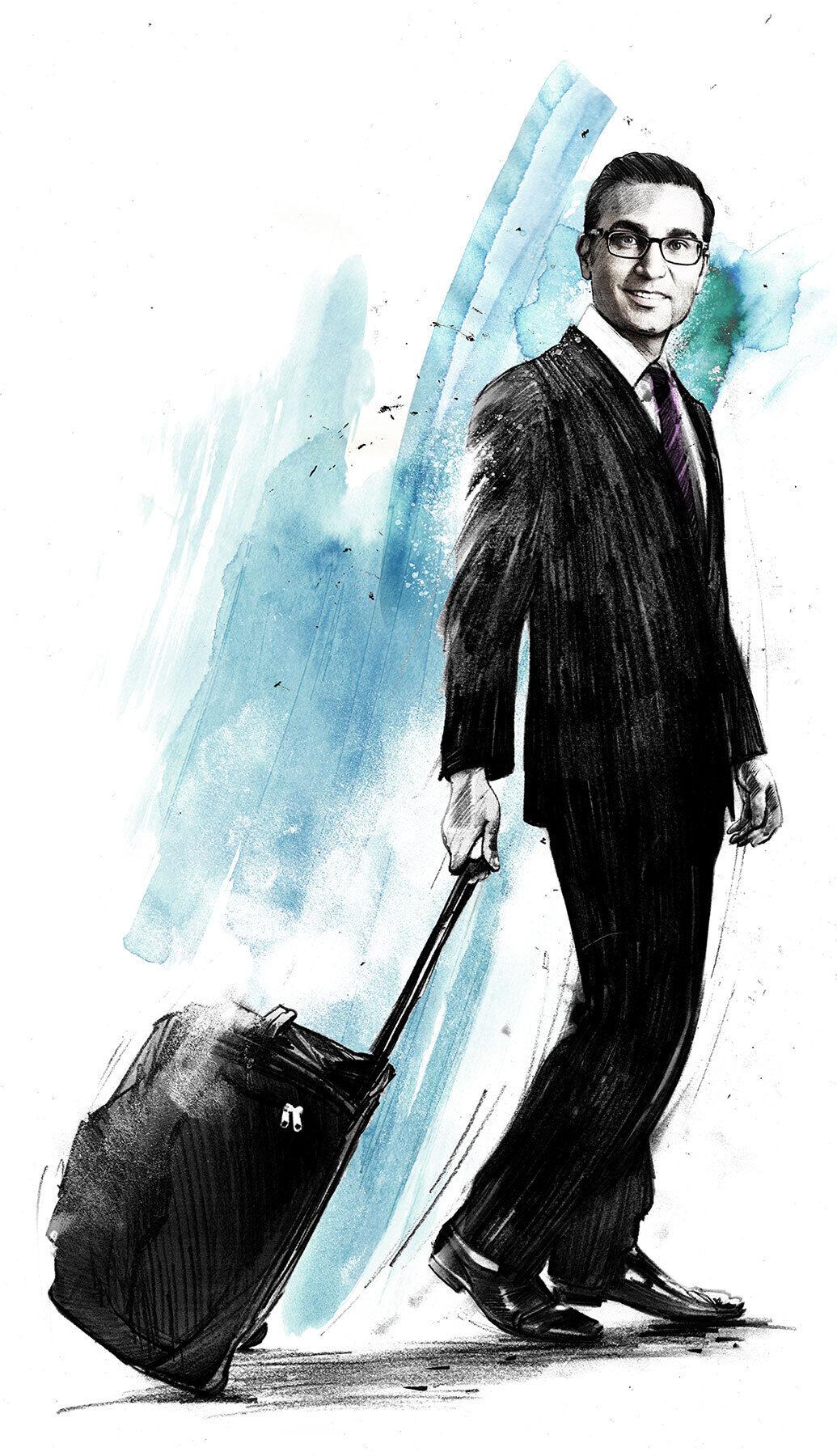 Iqbal Kahn credit suisse - Kornel Illustration | Kornel Stadler portfolio