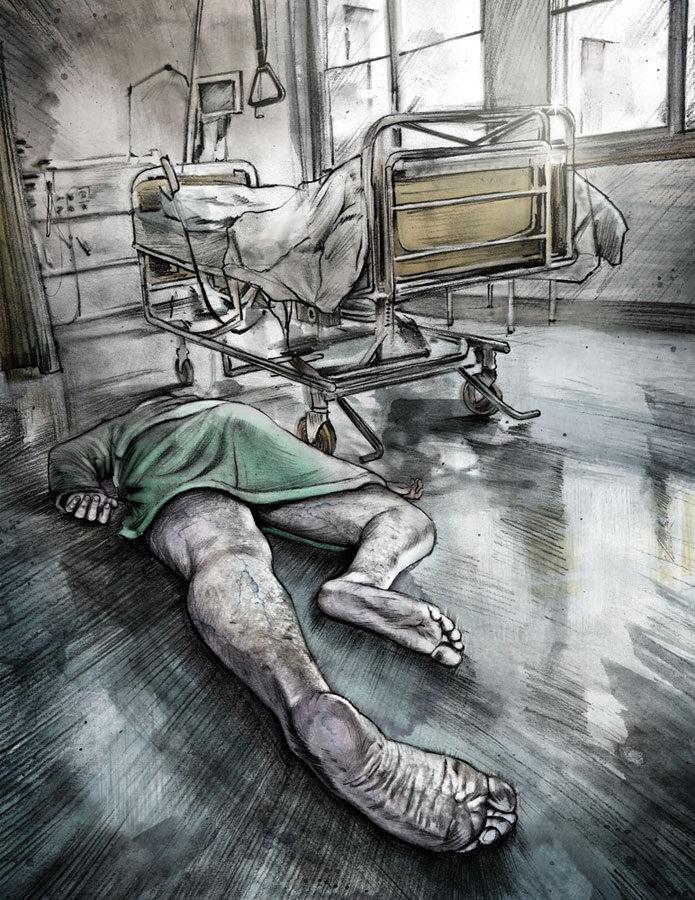 Beobachter 11 - Kornel Illustration | Kornel Stadler portfolio