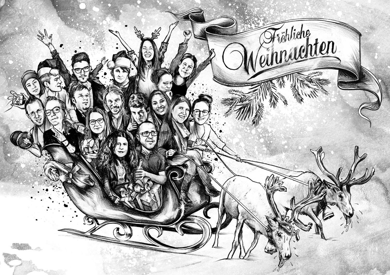 ALPHA245 Weihnachtkarte - Kornel Illustration | Kornel Stadler portfolio