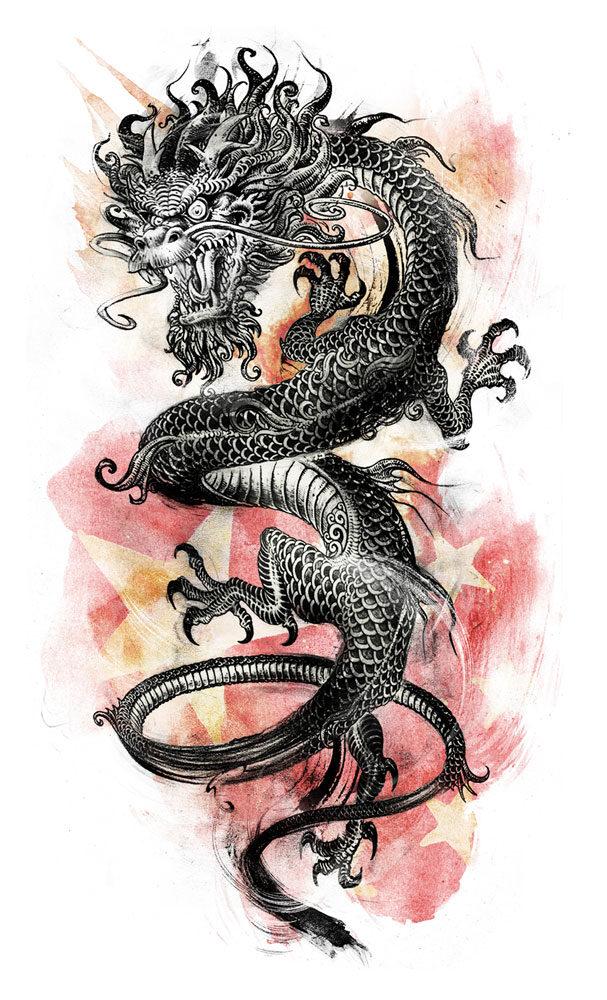Dragon web - Kornel Illustration | Kornel Stadler portfolio