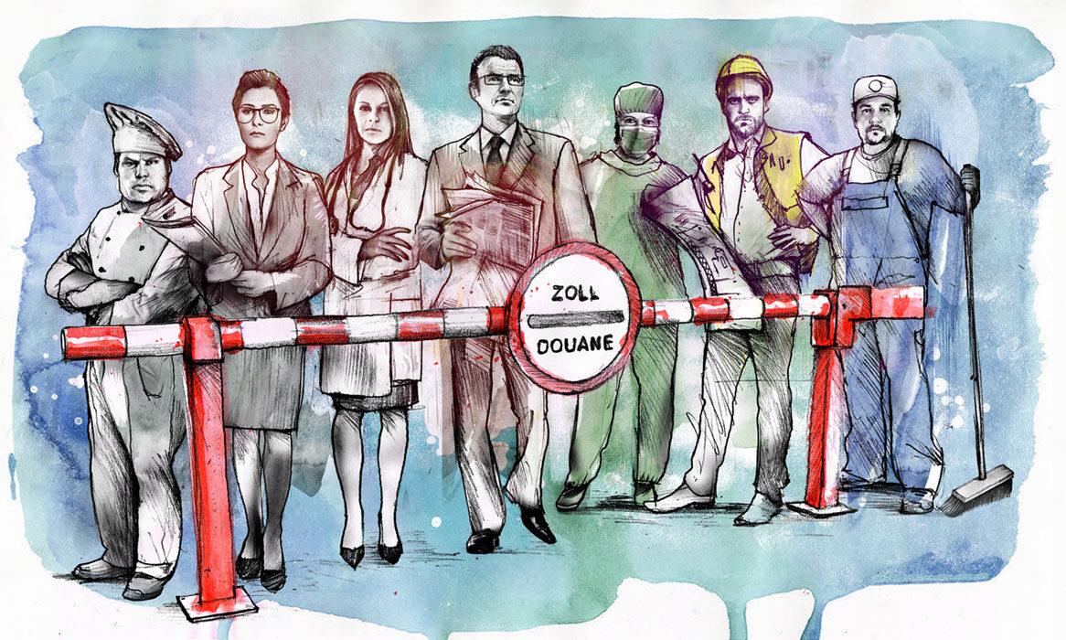 Wirtschaftsprognose - Kornel Illustration   Kornel Stadler portfolio