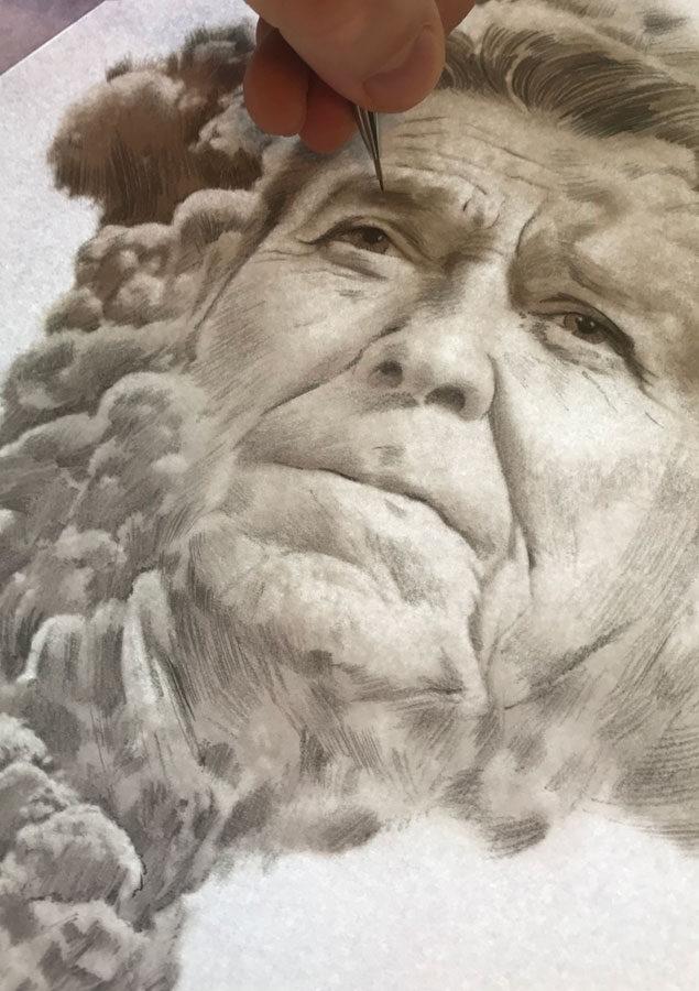Reagan2 - Kornel Illustration   Kornel Stadler portfolio