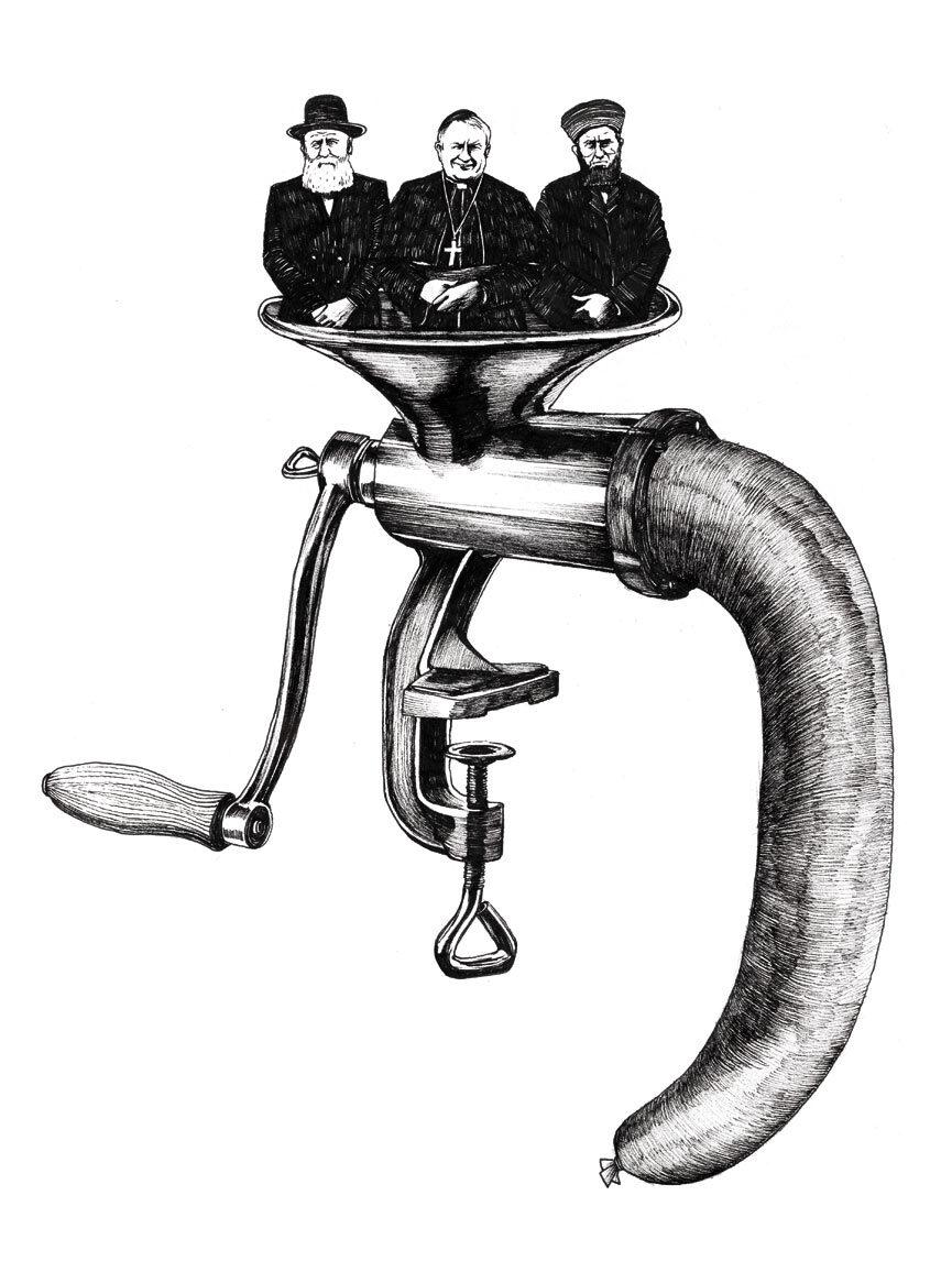 Wurst - Kornel Illustration   Kornel Stadler portfolio