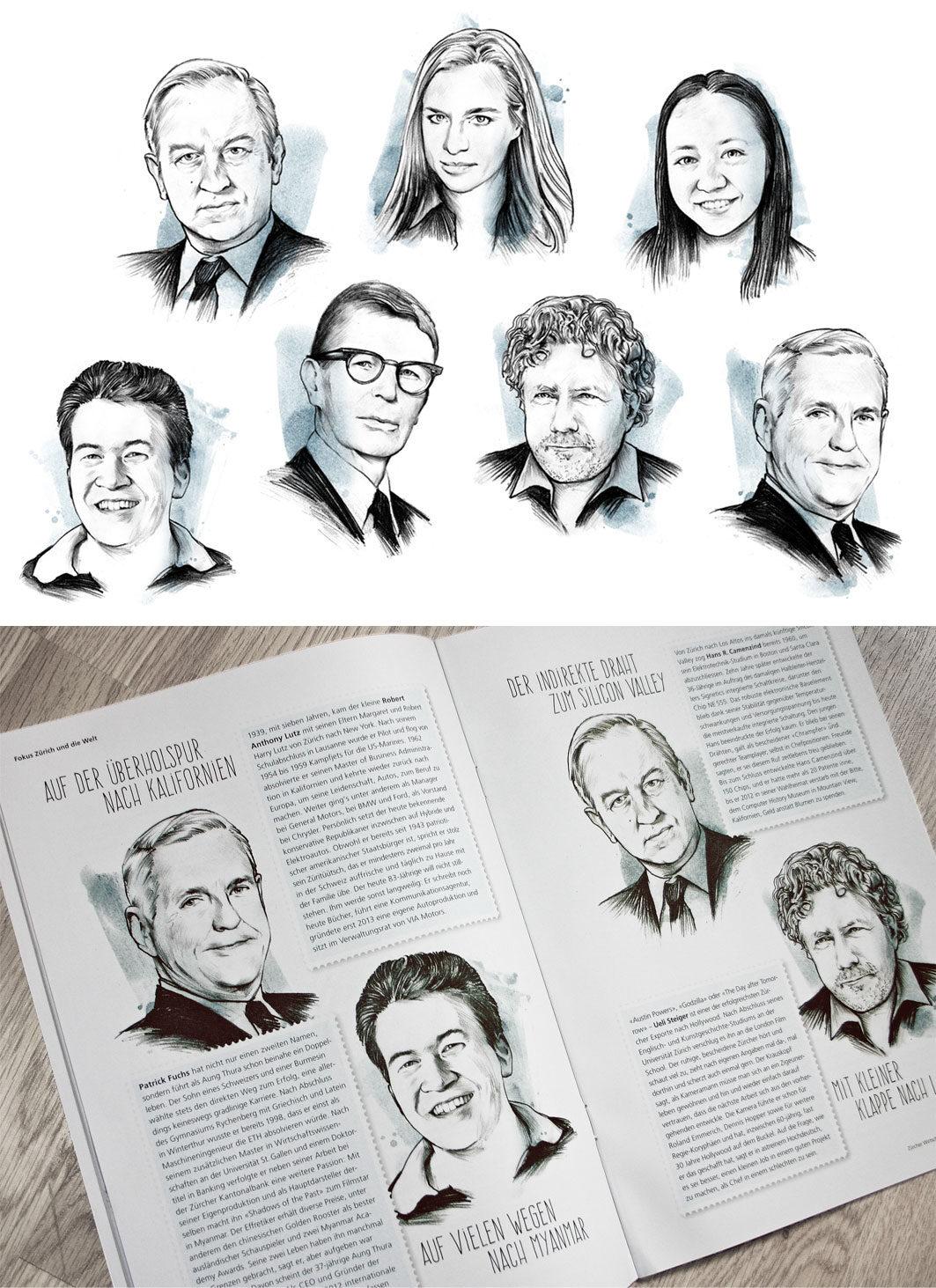 Minz - Kornel Illustration | Kornel Stadler portfolio
