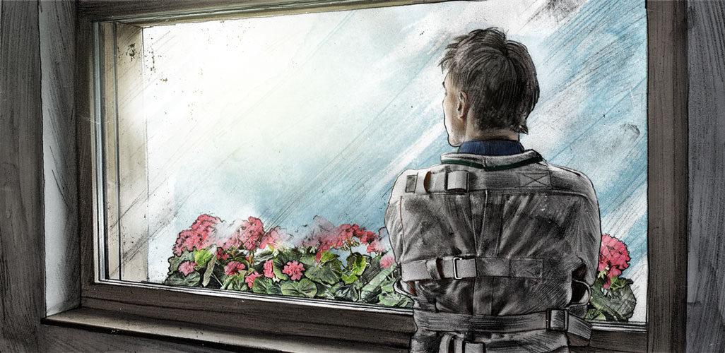 Zwangseinweisung1 - Kornel Illustration | Kornel Stadler portfolio
